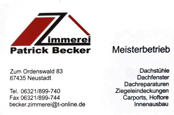 Zimmerei Patrick Becker